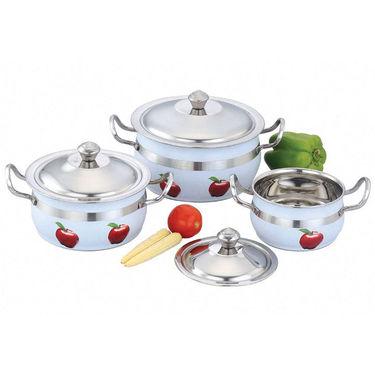 Klassic Vimal 3Pcs Tippsy Toppsy Cook N Serve Dish_KV109