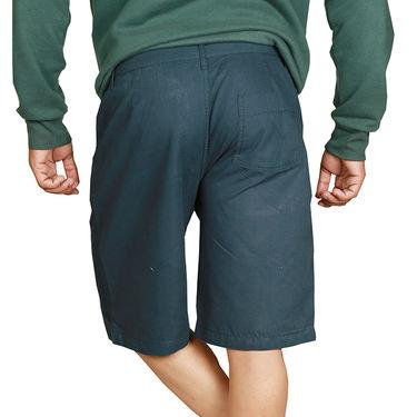 Sparrow Clothings Cotton Cargo Shorts_wjcrsht02 - Blue