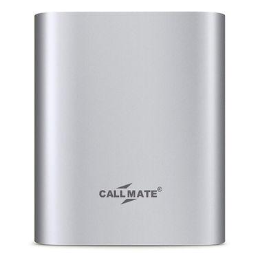 Callmate Power Bank Alloy 10400 mAh - Silver