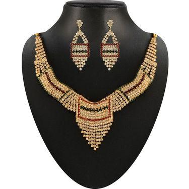 Kriaa Combo of 6 Jewellery Set With Free Payal & Earring