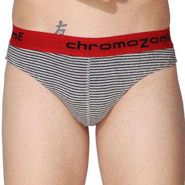 Pack of 3 Chromozome Regular Fit Briefs For Men_10144 - Multicolor