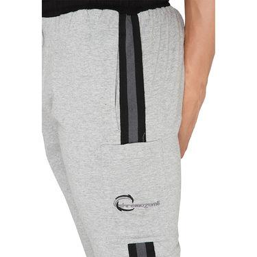 Chromozome Regular Fit Shorts For Men_10276 - Grey
