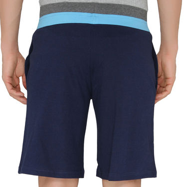 Chromozome Regular Fit Shorts For Men_10292 - Navy