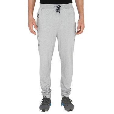 Chromozome Regular Fit Trackpants For Men_10524 - Grey