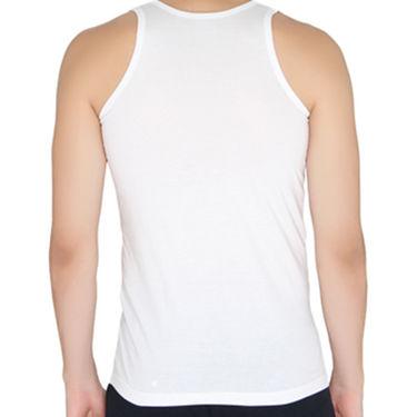 Chromozome Regular Fit Vest For Men_10544 - White