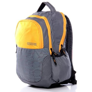 American Tourister Polyester Backpack At20 -Yellow