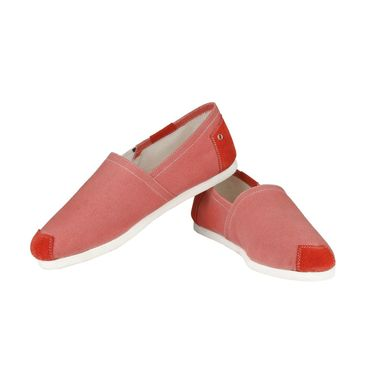 Delize Canvas Casual Shoes 1157-Red