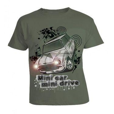LitFab - Tshirts with Lights - Car - Ash