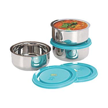 NanoNine Insulated Junior Lunch Box 3 Pcs SS070