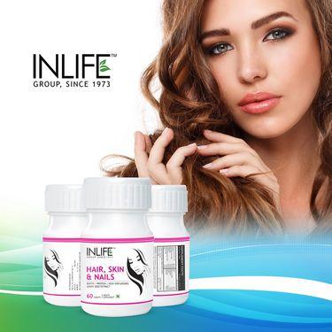 INLIFE Hair, Skin & Nails - 60 Tablets