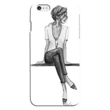 Snooky Digital Print Hard Back Case Cover For Apple Iphone 6 Td13473