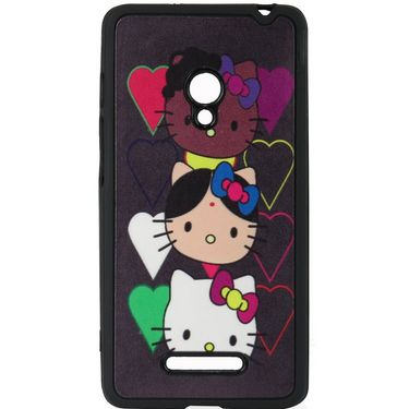Snooky Designer Soft Back Cover For Asus Zenfone 5 A501cg Td13571