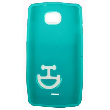 Snooky Smiley Back Case Cover For Micromax Canvas Nitro A310 Td13620