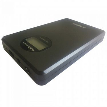 Envent 20,000 mAh Powerbank EnerG for Laptops/Tabs/Pads/Smartphones - Black