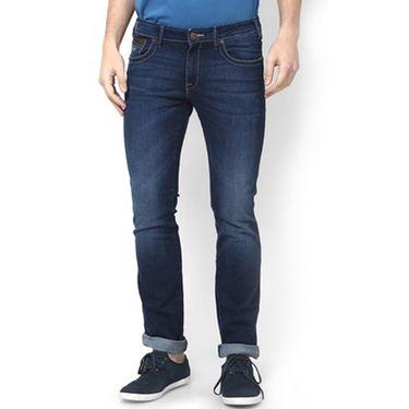 Branded Regular Fit Stylish Jeans For Men - Raymond Cotton Fabric_npjwz4 - Dark Blue