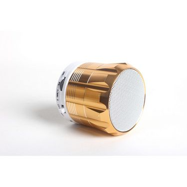 Callmate Star Bluetooth Speaker with Hands-free Call, Aux & USB/TF Card Reade - Golden