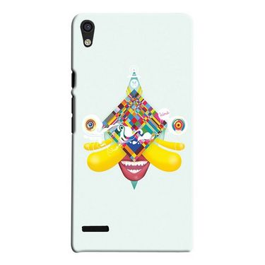 Snooky 19836 Digital Print Hard Back Case Cover For Huawei Ascend P6 - Green
