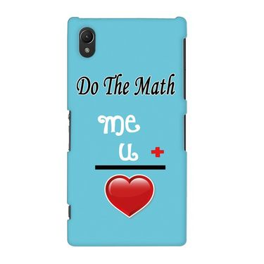 Snooky 19690 Digital Print Hard Back Case Cover For Sony Xperia Z2 - Blue