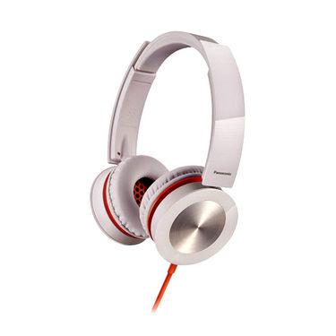 Panasonic RP-HXS400E-W Stylish Stereo Headphone with Swivel Mechanism - White
