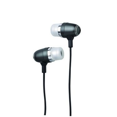 TDK MCG300 In-Ear Ear buds with Colorful Metallic Housing - Black