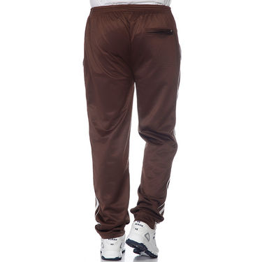 Delhi Seven Polyester Plain Trackpant For Men_Aktpm31 - Brown