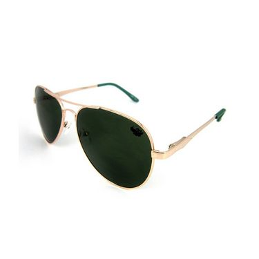Flying Machine  Aviator Sunglasses For Men_fms110col201 - Green