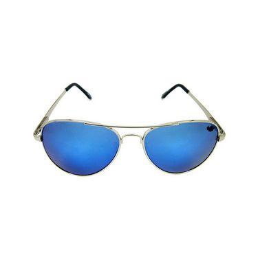 Flying Machine  Aviator Sunglasses For Men_fms112col121105d - Blue