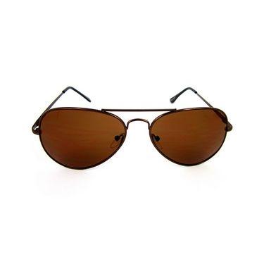 Flying Machine  Aviator Sunglasses For Men_fmsse1106col273 - Brown