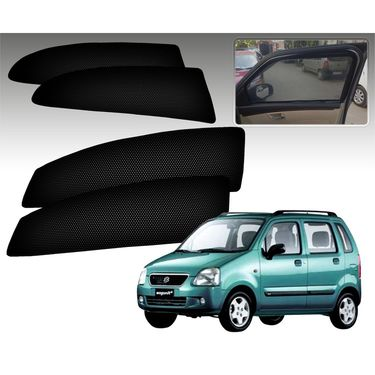 Set of 4 Premium Magnetic Car Sun Shades for MarutiwagonrOld