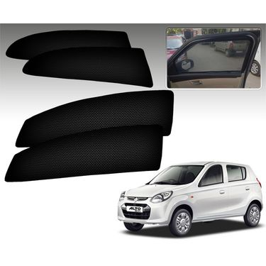 Set of 4 Premium Magnetic Car Sun Shades for Alto800
