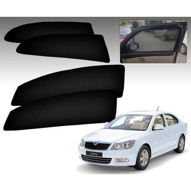Set of 4 Premium Magnetic Car Sun Shades for SkodaLaura
