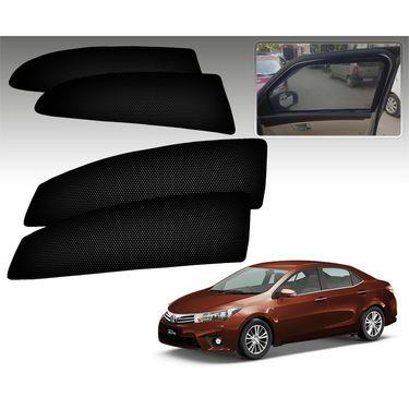 Set of 4 Premium Magnetic Car Sun Shades for ToyotaAltis