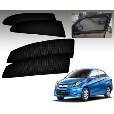Set of 4 Premium Magnetic Car Sun Shades for HondaAmaze