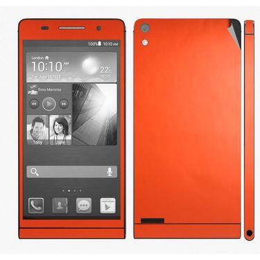 Snooky Mobile Skin Sticker For Huawei Ascend P6 20759 - Orange