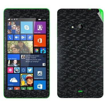 Snooky Mobile Skin Sticker For Microsoft Nokia Lumia 535 20733 - Black