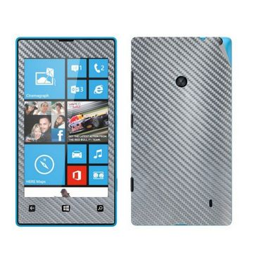 Snooky Mobile Skin Sticker For Nokia Lumia 520 20974 - silver