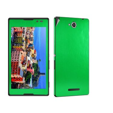 Snooky Mobile Skin Sticker For Sony Xperia C S39h 20808 - Green