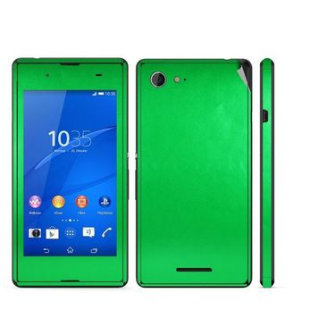 Snooky Mobile Skin Sticker For Sony Xperia E3 Dual 20860 - Green