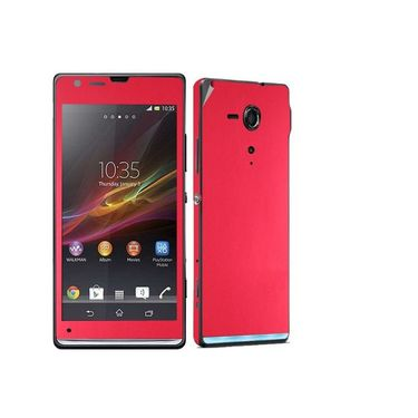 Snooky Mobile Skin Sticker For Sony Xperia Sp M35h C5302 20865 - Red