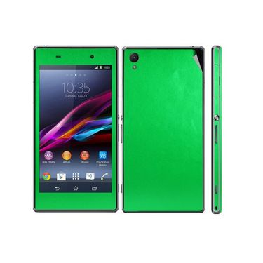 Snooky Mobile Skin Sticker For Sony Xperia Z1 L39h 20840 - Green