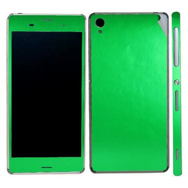 Snooky Mobile Skin Sticker For Sony Xperia Z3 20848 - Green