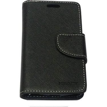 BMS lifestyle Mercury flip cover for Micromax A106 - Black