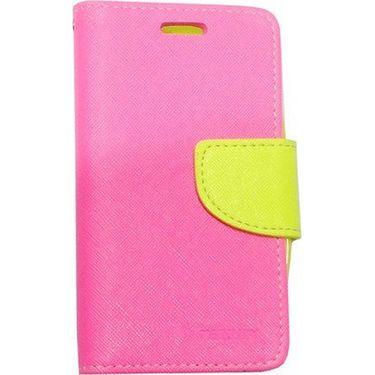 BMS lifestyle Mercury flip cover for Moto E - Pink