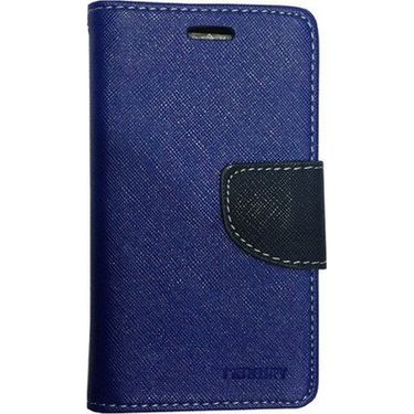 BMS lifestyle Mercury flip cover for Micromax A106 - Blue