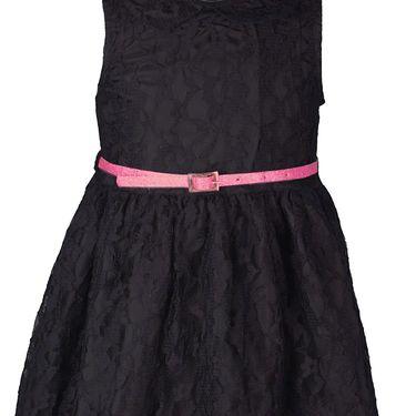 ShopperTree Black Lace Dress_ST-1423