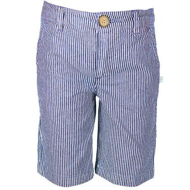 ShopperTree Denim Yarn Dyed Stripe Short