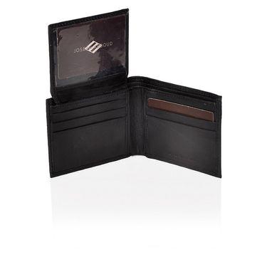 Branded Leather Wallet For Men_jsab1 - Black