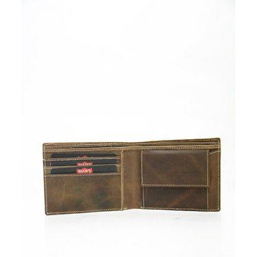 Levis Leather Wallet For Men_levis3 br - Brown