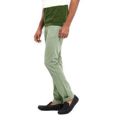 Good karma Cotton Chinos_gkj807 - Light Green