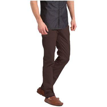 Good karma Cotton Chinos_gkj813 - Coffee Brown
